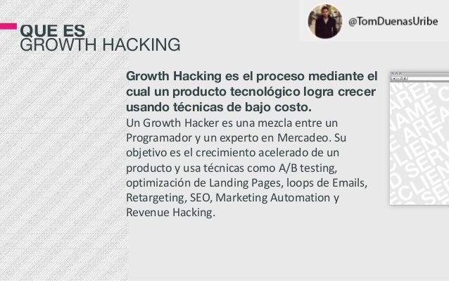 Qué es Growth Hacking Slide 2