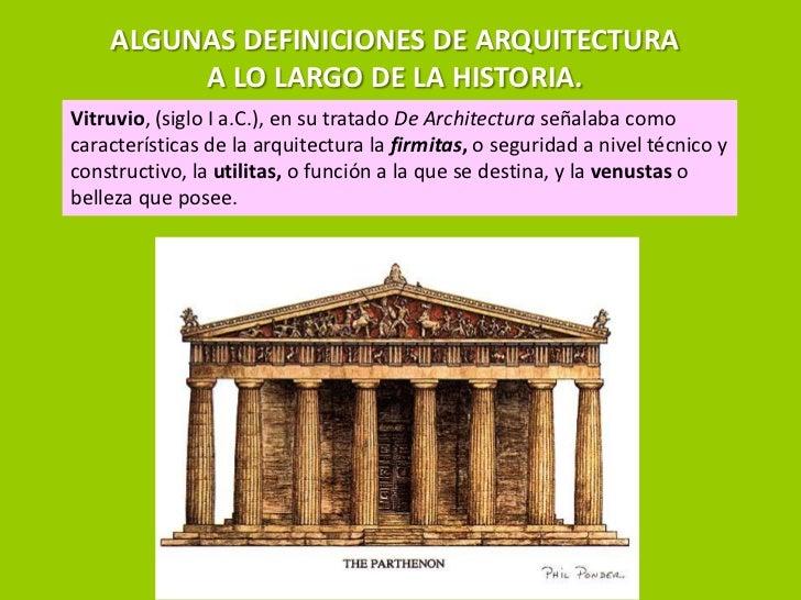 Que es la arquitectura for Que es arte arquitectura