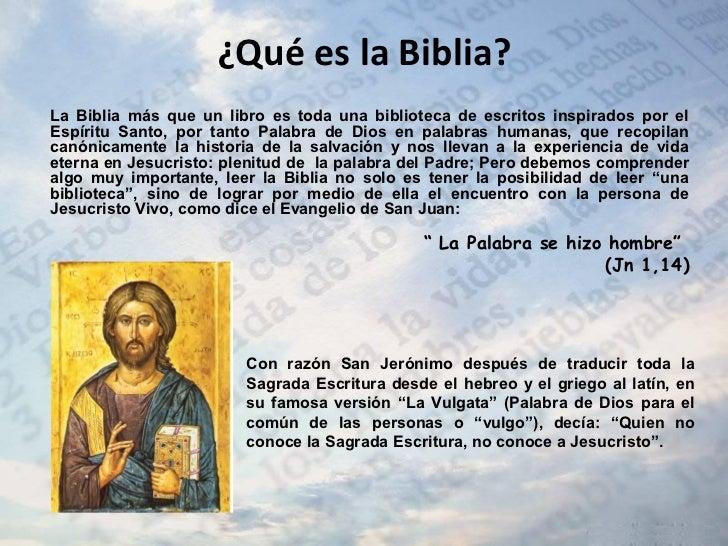 Que Es La Biblia Y Como Leerla