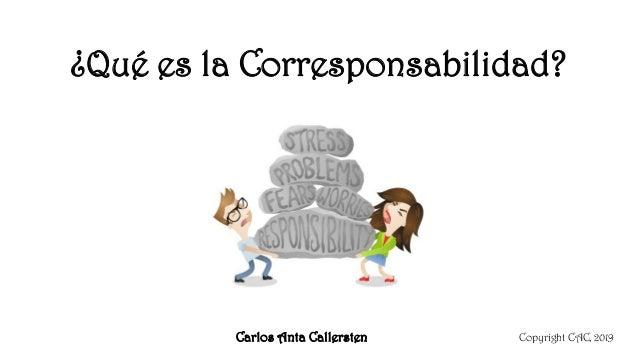 ¿Qué es la Corresponsabilidad? Copyright CAC, 2019Carlos Anta Callersten
