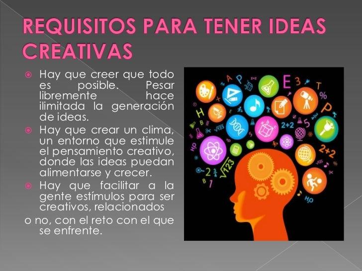 Trucos sencillos para estimular la creatividad - El invernadero ...