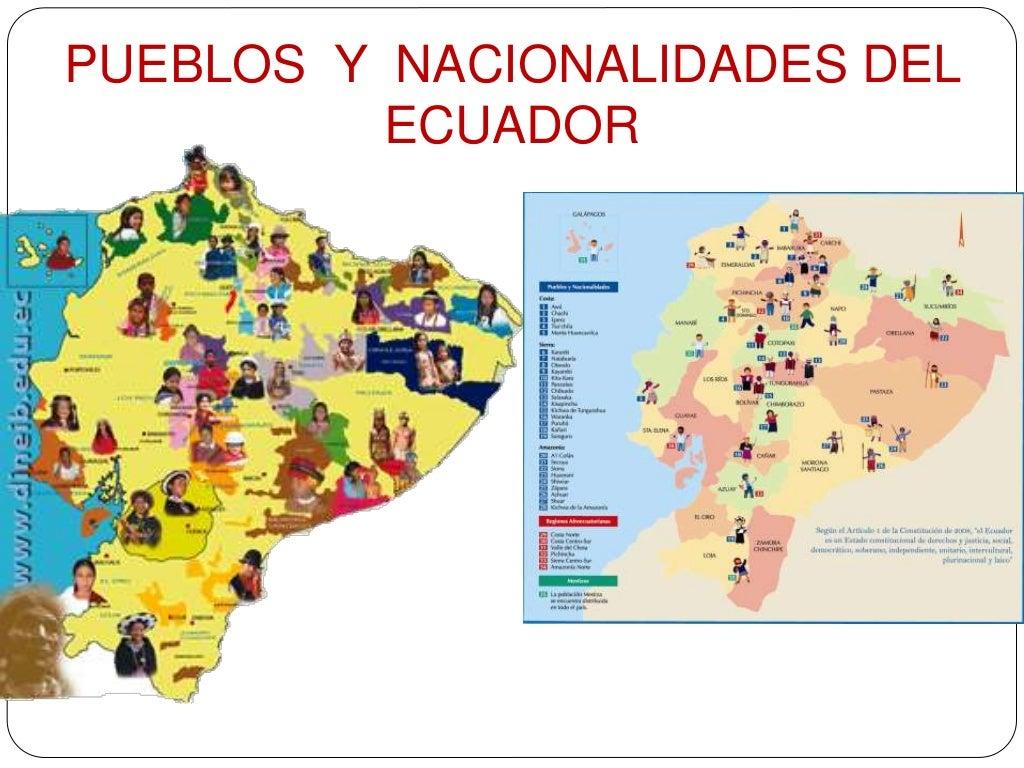 Grupo De Niños De Diferentes Nacionalidades Colorear: PUEBLOS Y NACIONALIDADES DEL ECUADOR