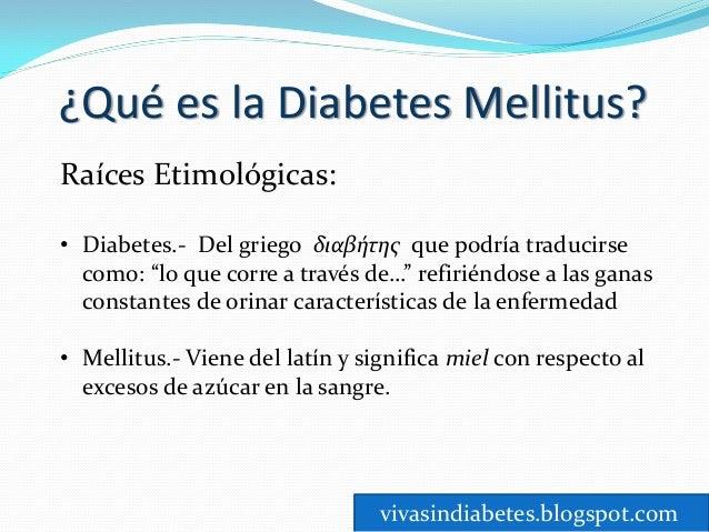 Que es la diabetes mellitus