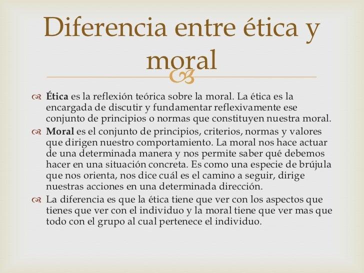 Que es la etica y moral y diferencias for Diferencia entre yeso y escayola