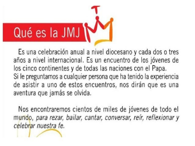 Que es la jmj