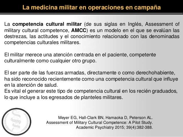 Meyer EG, Hall-Clark BN, Hamaoka D, Peterson AL. Assessment of Military Cultural Competence: A Pilot Study. Academic Psych...