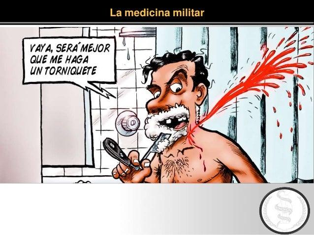 La medicina militar