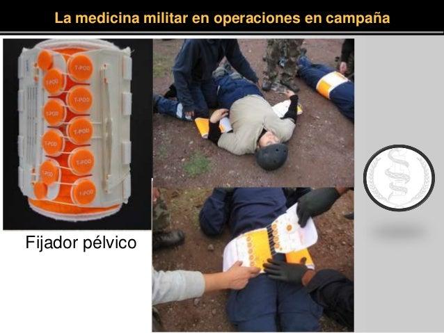 Fijador pélvico La medicina militar en operaciones en campaña