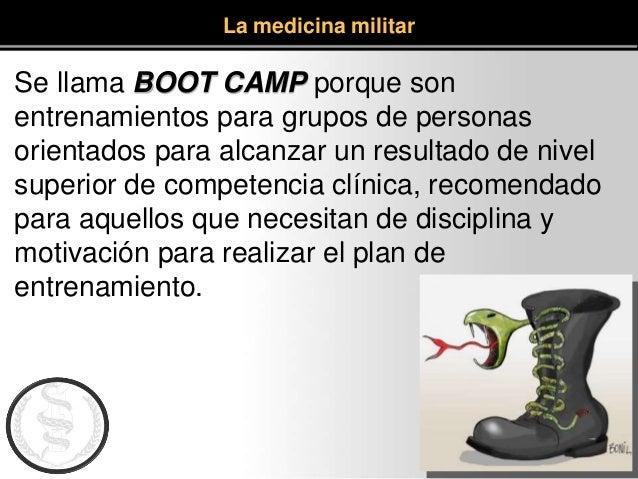 Se llama BOOT CAMP porque son entrenamientos para grupos de personas orientados para alcanzar un resultado de nivel superi...