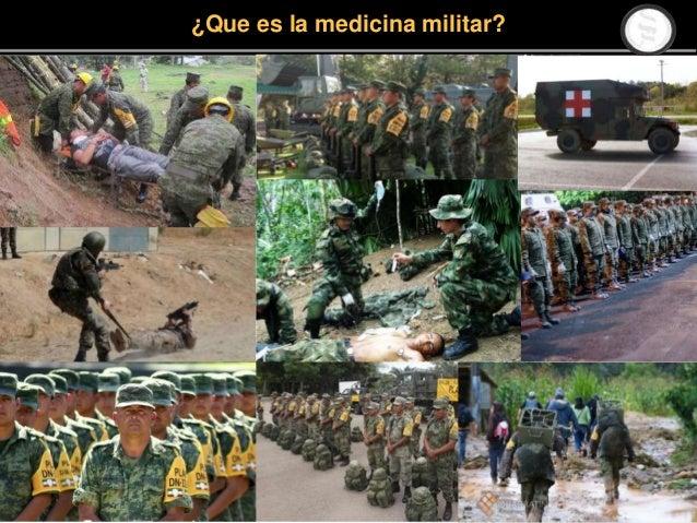 ¿Que es la medicina militar?
