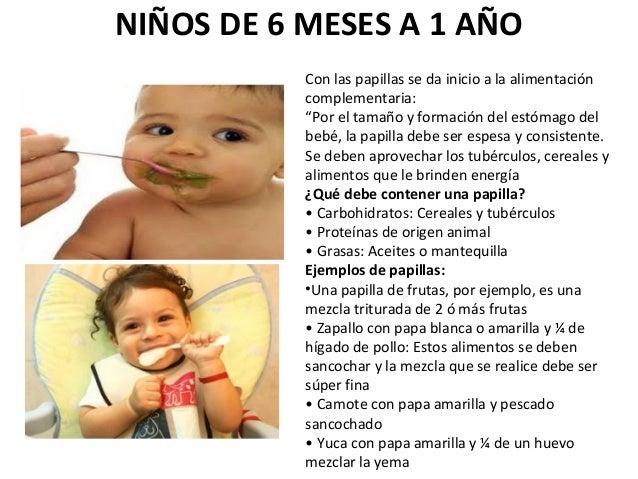 Que es la nutricion - Que puede comer un bebe de 8 meses ...