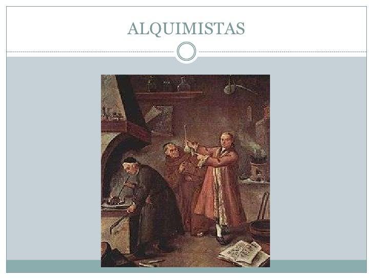 ALQUIMISTAS<br />
