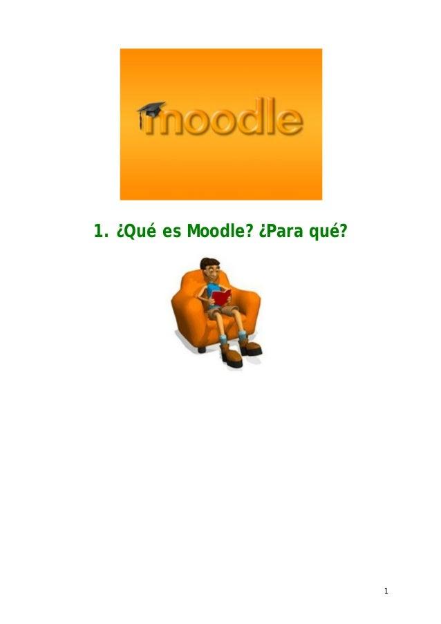 11. ¿Qué es Moodle? ¿Para qué?