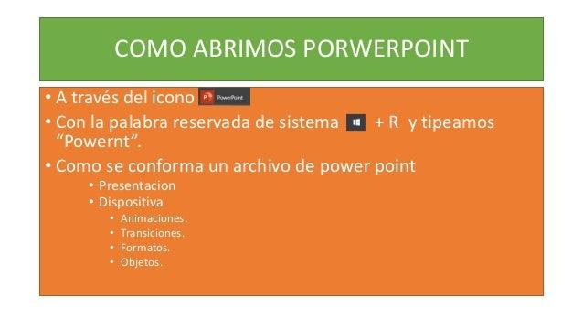 Que es power point Slide 2