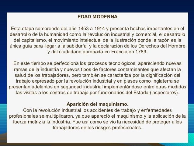 EDAD MODERNAEsta etapa comprende del año 1453 a 1914 y presenta hechos importantes en eldesarrollo de la humanidad como la...
