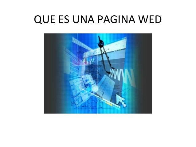 Que es una pagina wed for Que es una pagina virtual