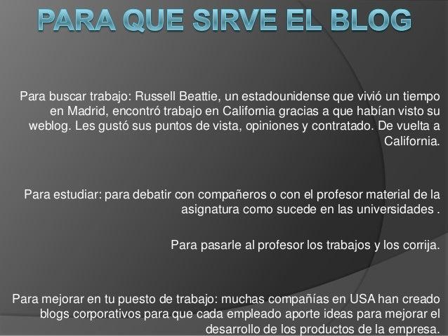 Para buscar trabajo: Russell Beattie, un estadounidense que vivió un tiempoen Madrid, encontró trabajo en California graci...