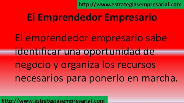 Que es ser un emprendedor Slide 3