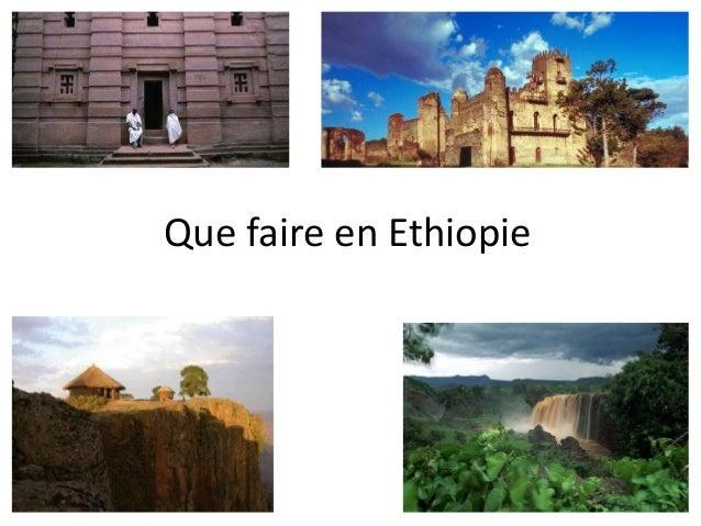 Que faire en Ethiopie