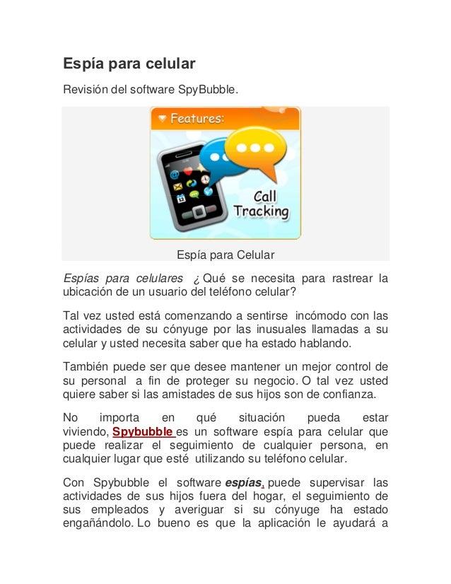 software espia para cualquier celular