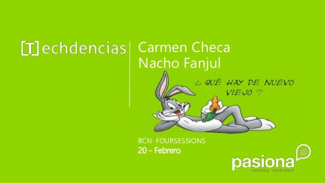 Carmen Checa Nacho Fanjul BCN· FOURSESSIONS 20 - Febrero
