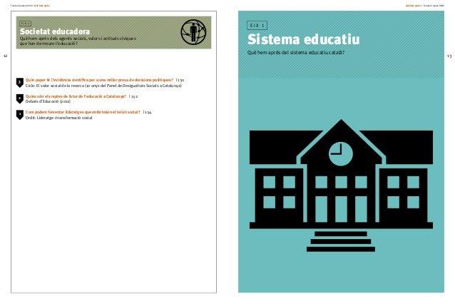 Fundació Jaume Bofill * Què hem après 12 Què hem après + Fundació Jaume Bofill 13 Quin paper té l'evidència científica per...