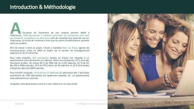 l'occasion de l'ouverture de son campus parisien dédié à l'alternance, l'EM Normandie a souhaité interroger les entreprise...