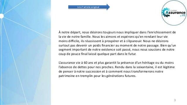 Quel Est Le Prix Dune Assurance Vie A 60 Ans Ou Plus Au Quebec