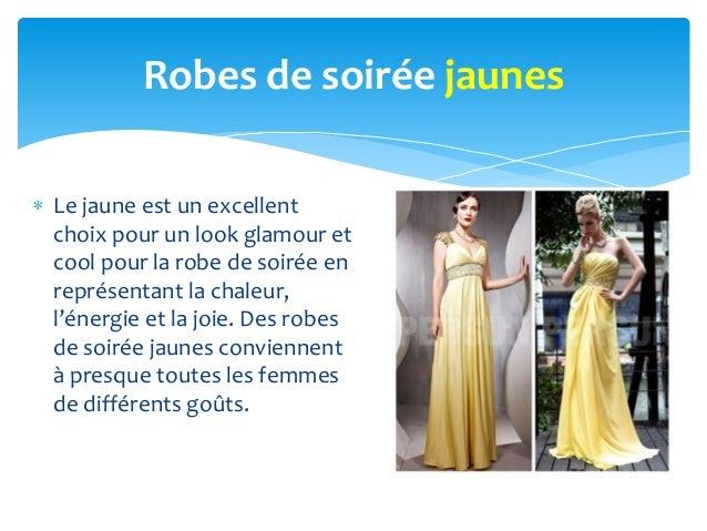 Robes de soirée jaunesLe jaune est un excellentchoix pour un look glamour etcool pour la robe de soirée enreprésentant la ...