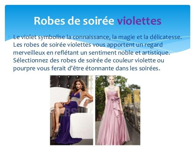 Robes de soirée violettesLe violet symbolise la connaissance, la magie et la délicatesse.Les robes de soirée violettes vou...
