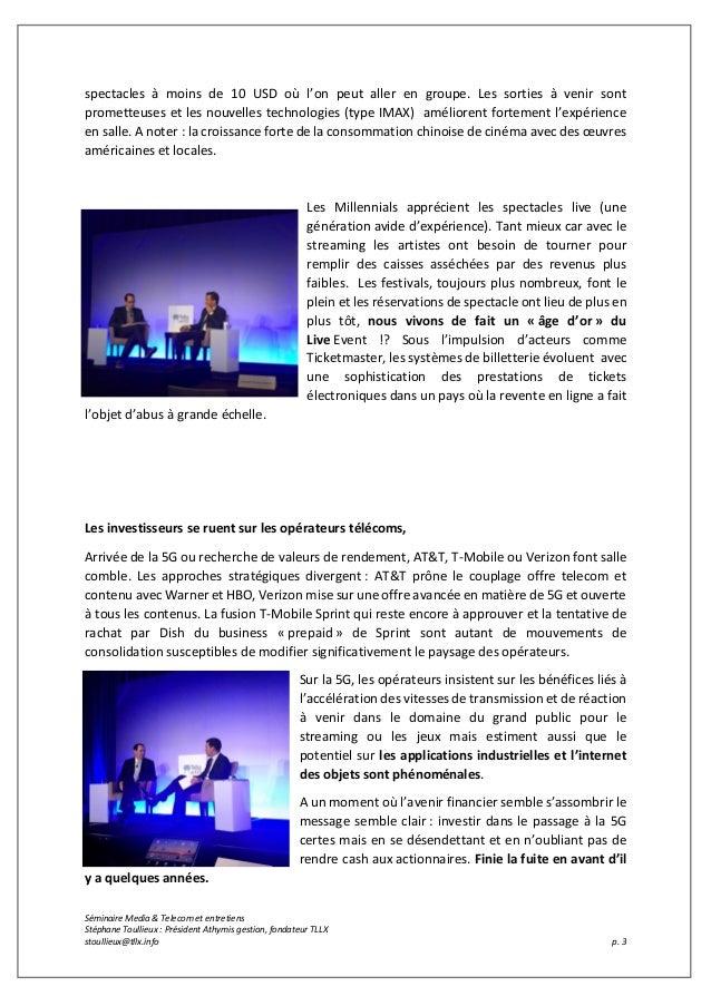 Conférence a Medias et Telecoms 2019 Slide 3