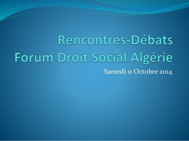 Quelques Remarques Sur Le Projet De Code De Travail Algerien Version