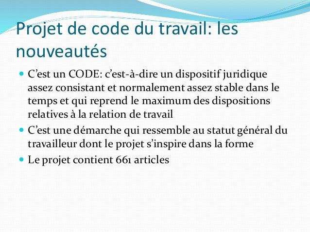 code du travail en algerie