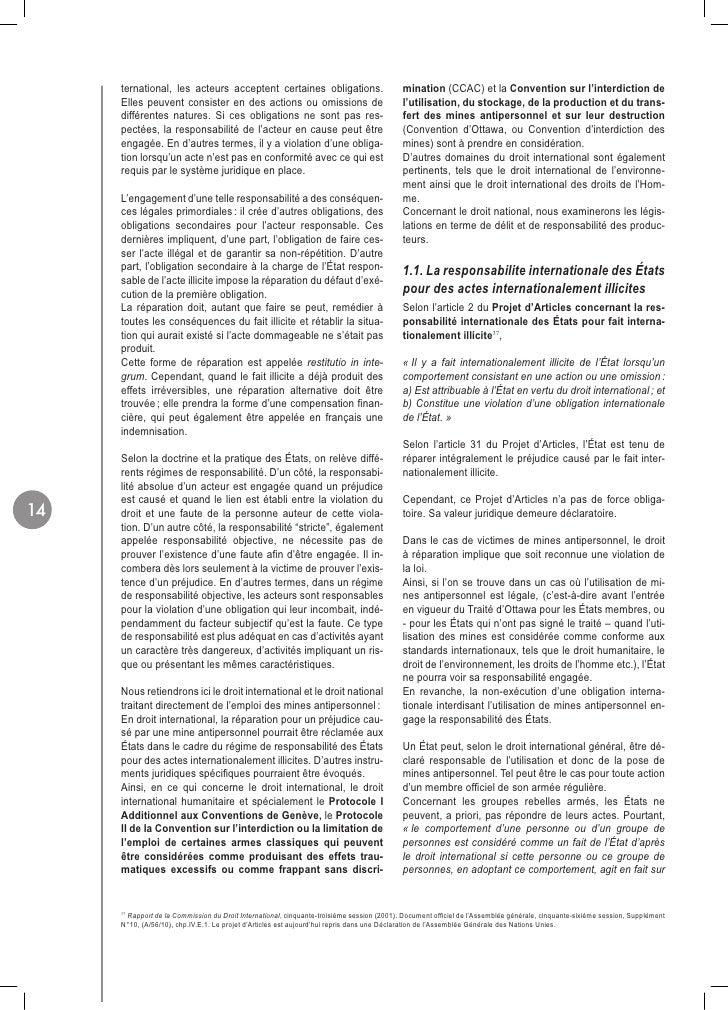 ternational, les acteurs acceptent certaines obligations.                             mination (CCAC) et la Convention sur...