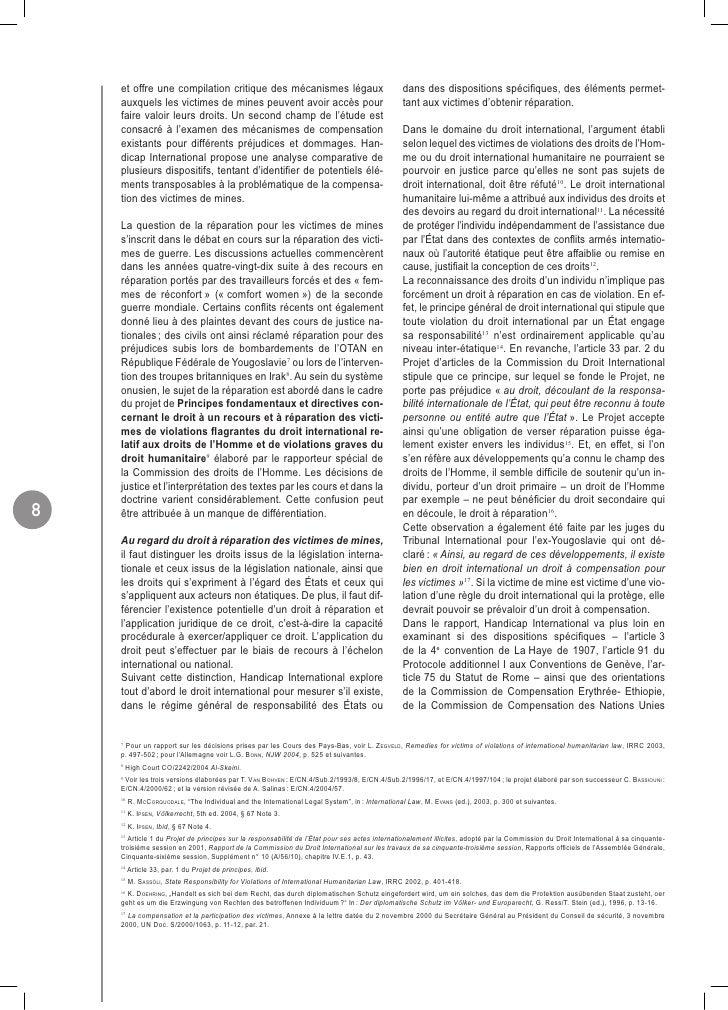 et offre une compilation critique des mécanismes légaux                                     dans des dispositions spécifiqu...