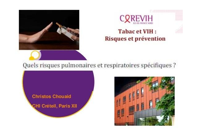 Christos Chouaid CHI Créteil, Paris XII