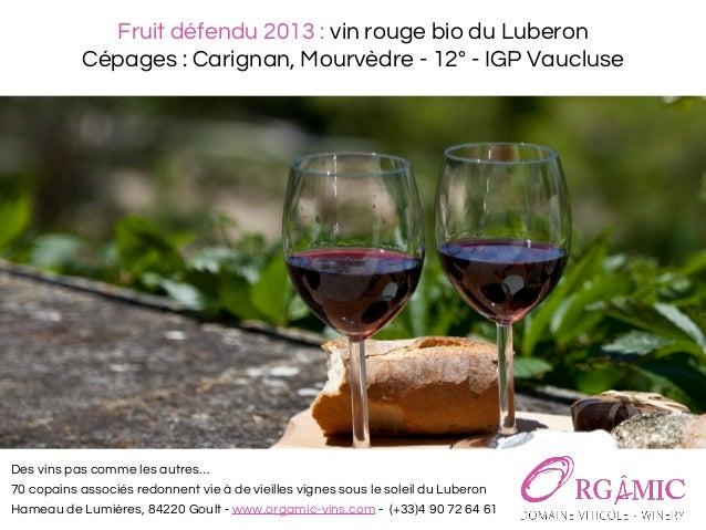 Quel vin du luberon pour quel plat for Quel vin rouge pour cuisiner