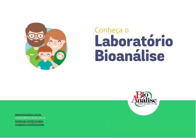Conheça o Bioanálise