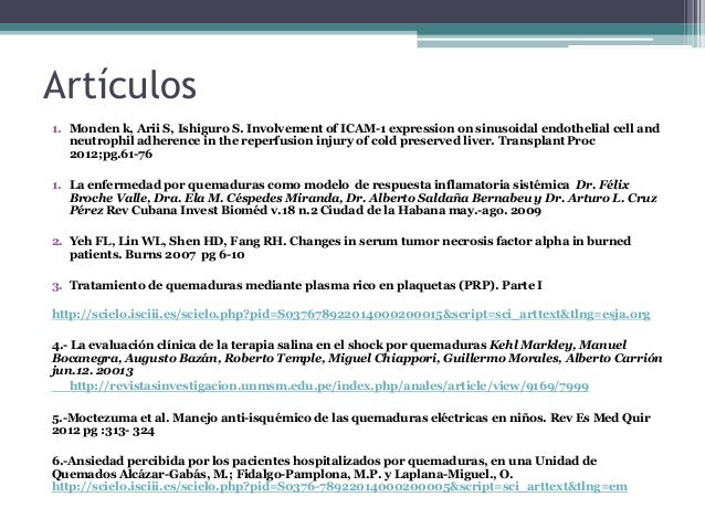 Artículos 1. Monden k, Arii S, Ishiguro S. Involvement of ICAM-1 expression on sinusoidal endothelial cell and neutrophil ...