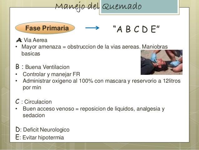 """Fase Primaria """"A B C D E"""" : Via Aerea • Mayor amenaza = obstruccion de la vias aereas. Maniobras basicas B : Buena Ventila..."""