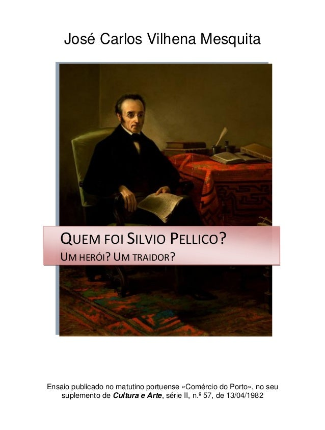 José Carlos Vilhena Mesquita Ensaio publicado no matutino portuense «Comércio do Porto», no seu suplemento de Cultura e Ar...