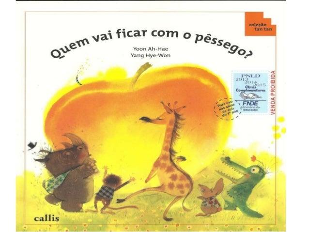QUEM VAI FICAR COM O PÊSSEGO II.pptx