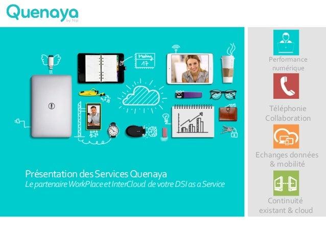 Présentation  des  Services  Quenaya     Le  partenaire  WorkPlace  et  InterCloud    de  votre  ...