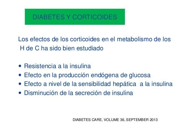 Que no indicar en un paciente diabetico
