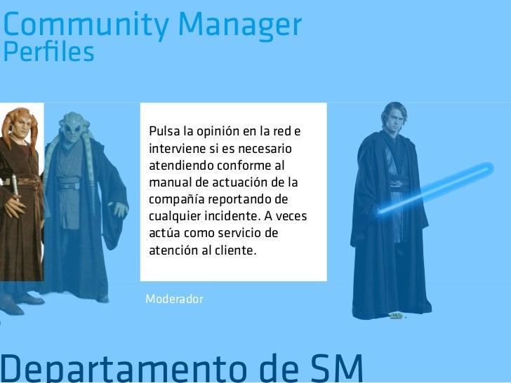 Community ManagerPerfiles          Crea contenidos para los          diversos canales sociales de          la compañía afine...