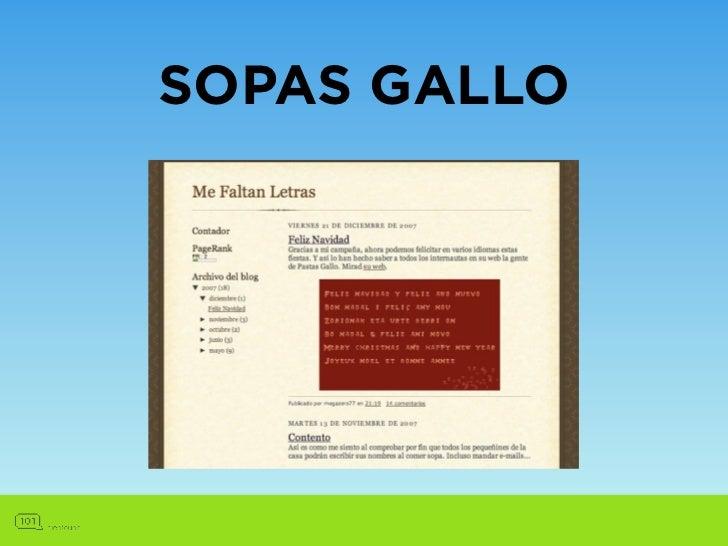 SOPAS GALLO