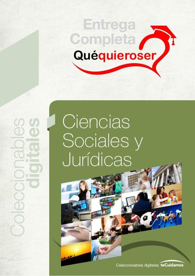 Quéquieroser Coleccionables digitales Coleccionables digitales Ciencias Sociales y Jurídicas Entrega Completa