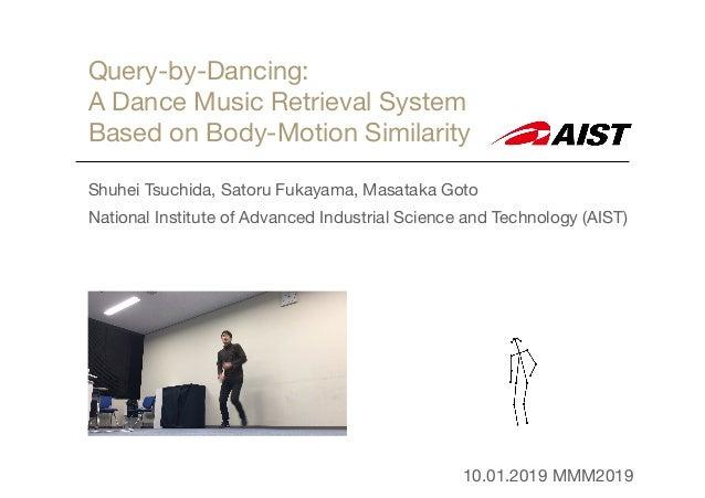 Query-by-Dancing:   A Dance Music Retrieval System   Based on Body-Motion Similarity Shuhei Tsuchida, Satoru Fukayama, Mas...