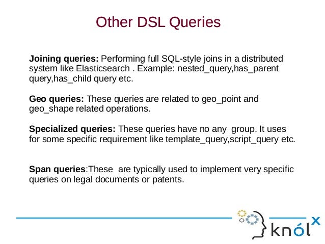 Query DSL In Elasticsearch