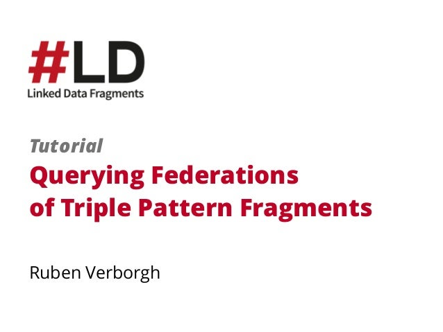 Querying Federations